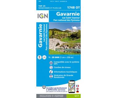IGN 1748 OT Gavarnie / Luz-st-Sauveur / Parc national des Pyrenees