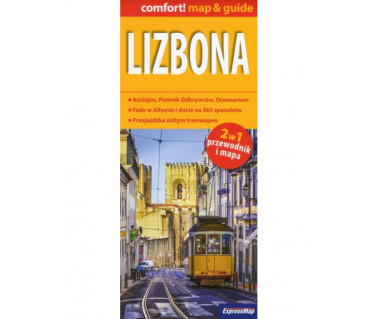 Lizbona (mapa+miniprzewodnik)
