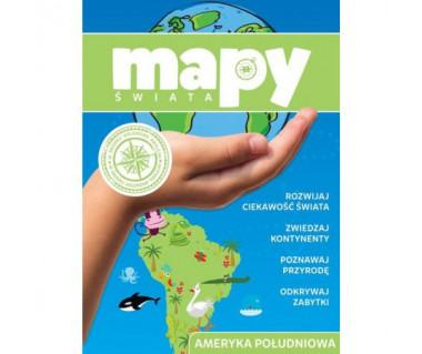 Mapy świata. Ameryka Południowa i Antarktyda
