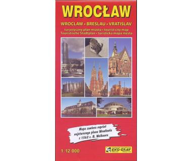 Wrocław plan turystyczny