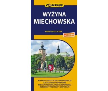 Wyżyna Miechowska - Mapa