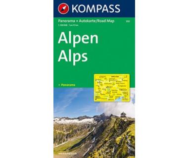 K 350 Alpen/Alps Panorama