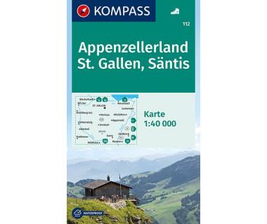 K 112 Appenzellerland, St.Gallen, Santis