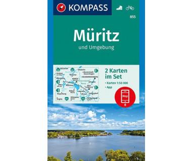 K 855 Rund um die Muritz (2 mapy komplet)