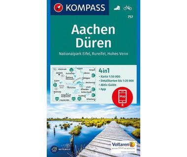 K 757 Aachen, Duren, Nationalpark Eifel, Rureifel, Hohes Venn