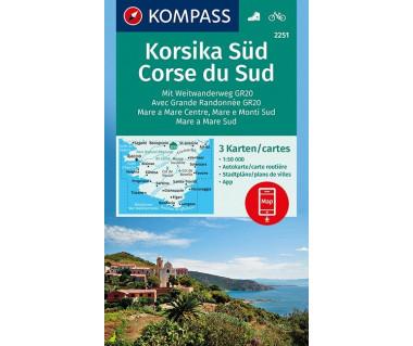 K 2251 Korsika Sud (3 mapy kpl.)