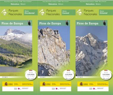 Picos de Europa PN (3 mapy + przew.)