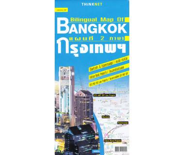 Bangkok bilingual map