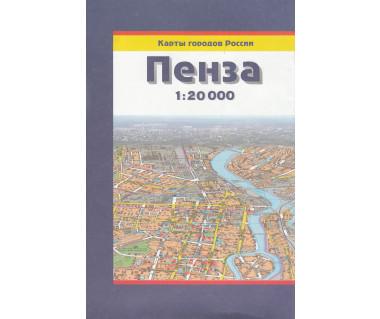 Pezna - mapa miasta i okolic