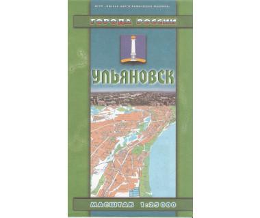 Uljanowsk - mapa miasta i okolic