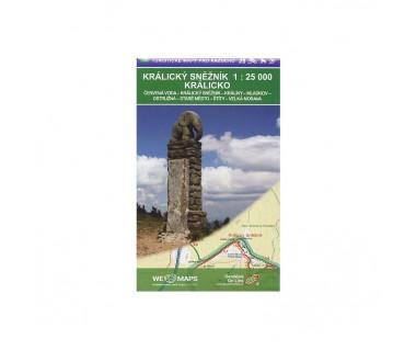 Kralicky Sneznik Mapa turystyczna 1:25 000