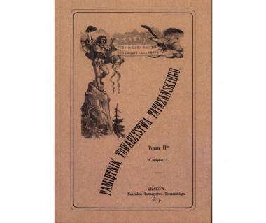Pamiętnik Towarzystwa Tatrzańskiego t.2 (reprint z 1877)
