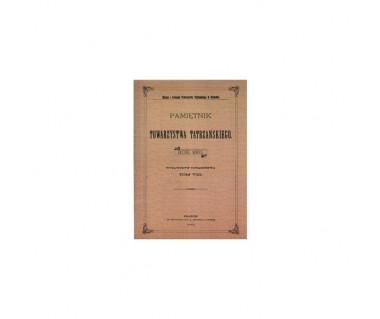 Pamiętnik Towarzystwa Tatrzańskiego t.8 (reprint z 1883 r.)