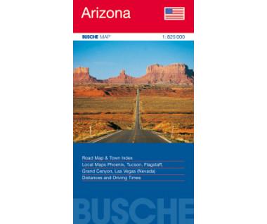 Arizona - Mapa