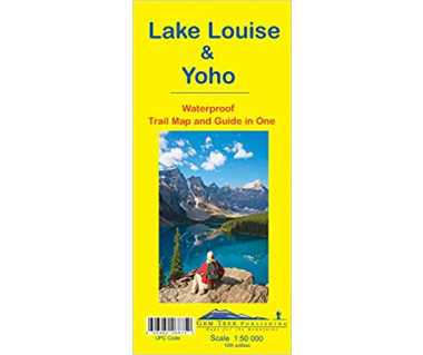 Lake Louise & Yoho waterproof trail and guide in one