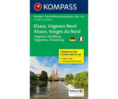 K 2220 Alsace, Vosges du Nord (2 mapy kpl.)