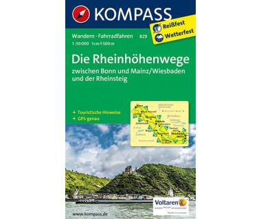 K 829 Die Rheinhohenwege
