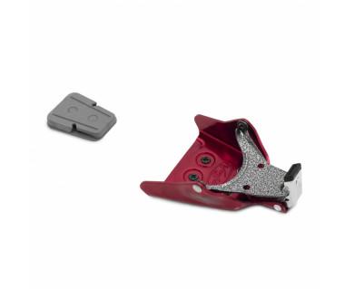 Wiązania telemarkowe HD Mountaineer 3-Pin k:czerwony