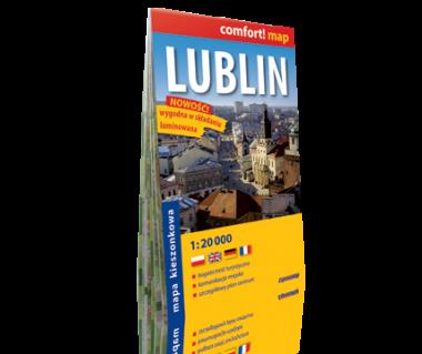 Lublin plan laminowany kieszonkowy