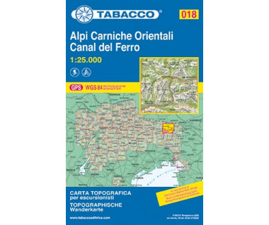 TAB018 Alpi Carniche Orientali,Canal del Ferro
