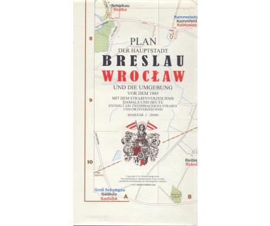 Wrocław/Breslau (reprint 1945)