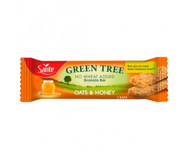 Baton granola Green Tree owsiany z miodem 40g