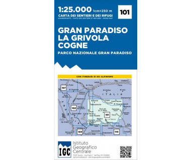 IGC 101 Gran Paradiso, La Grivola, Cogne