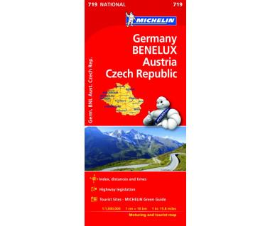 Germany, Benelux, Austria, Czech Republic (M 719)