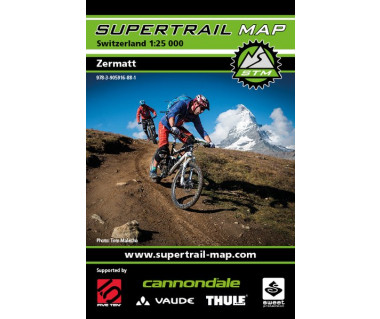Zermatt Supertrail Map