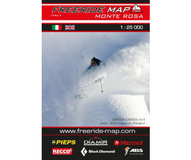 Monte Rosa Freeride Map
