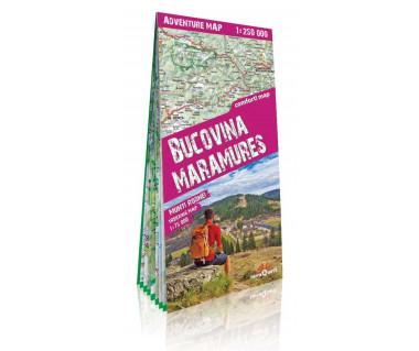 Bucovina Maramures adventure map