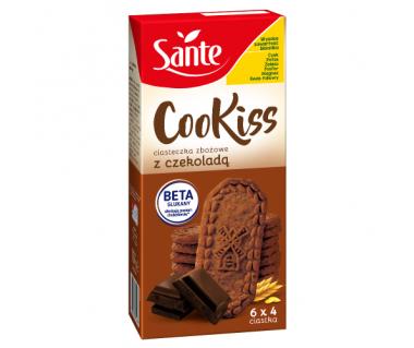 Ciasteczka zbożowe z czekoladą Cookiss 300g