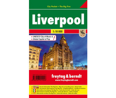 Liverpool plan laminowany