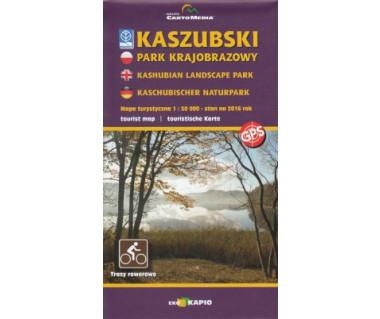 Kaszubski Park Krajobrazowy (wers. ang./niem.)