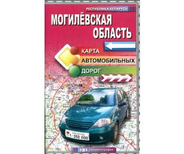 Obwód Mohylewski - Mapa