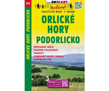 CT100 211 Orlicke Hory, Podorlicko