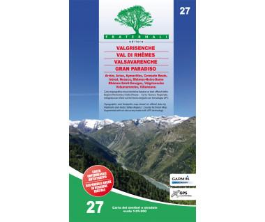 27 Valgrisenche - Val di Rhêmes - Valsavaranche - Gran Paradiso