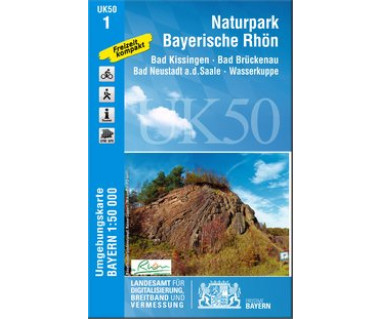 UK50-1 Naturpark Bayerische Rhön