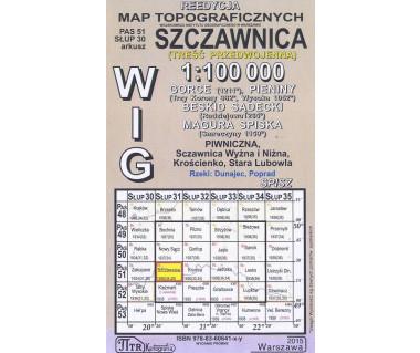 WIG 51/30 Szczawnica (plansza) reedycja z 1936 r.