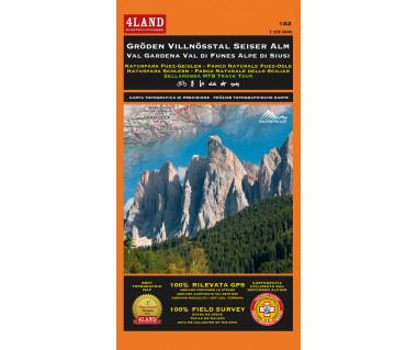 182 Gröden Villnösstal Seiser Alm Val Gardena Val di Funes Alpe di Siusi