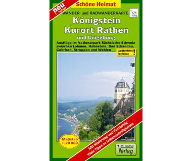 Königstein, Kurort Rathen undUmgebung