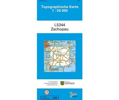 L5344 Zschopau 1:50.000