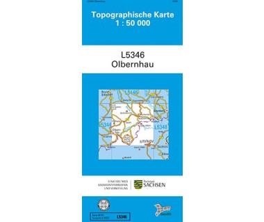L5346 Olbernhau 1:50.000