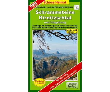 Schrammsteine, Kirnitzschtal undUmgebung