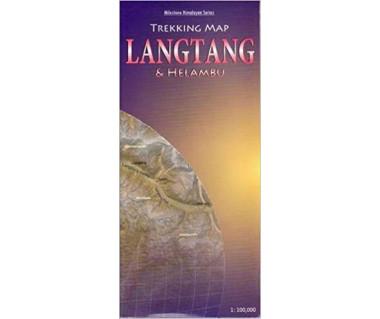 Langtang & Helambu trekking map