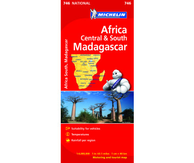 Africa Central & South, Madagascar (M 746)