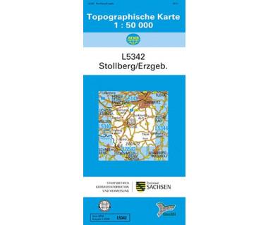 L5342 Stollberg (Erzgebirge) 1:50.000