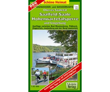 Oberes Saaletal, Saalfeld/Saale, Hohenwartetalsperre undUmgebung