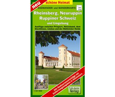 Rheinsberg, Neuruppin, Ruppiner Schweiz undUmgebung