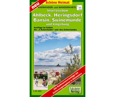 Insel Usedom, Ahlbeck, Heringsdorf, Bansin, Swinemünde undUmgebung